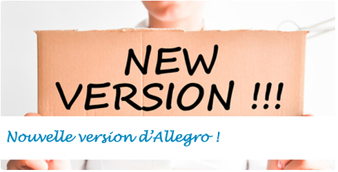 Nouvelle version d'Allegro !